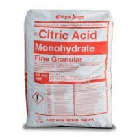 ACIDE CITRIQUE MONOHYDRATE 25KG
