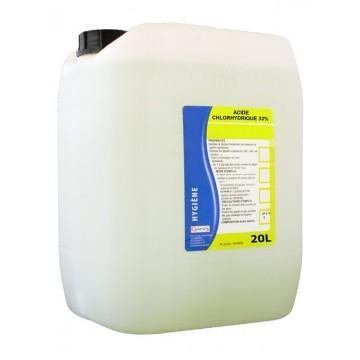 Acide Chlorhydrique Nettoyage acide chlorhydrique 33%